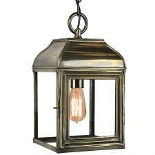 Hemingway Hanging Lantern Small Light Antique
