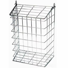 White Small Letter Cage
