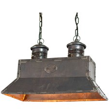 Smithy Pendant Light Antique Brass