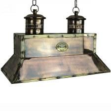 Smithy Pendant Light, Light Antique Brass