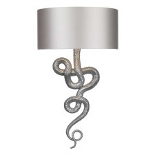 David Hunt SNA0799 Snake Wall Light Pewter