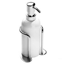 Samuel Heath L66 Classic Freestanding Soap Dispenser Polished Chrome