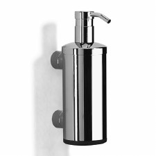 Samuel Heath N5304 Wall Mounted Liquid Soap Dispenser Polished Chrome