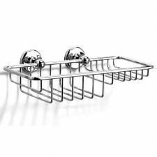 Samuel Heath N1026-W Soap & Sponge Basket Polished Chrome