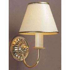 Solar Single Wall Light Polished Brass
