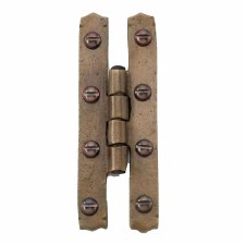 "H Hinge 4"" Oil Rubbed Bronze"