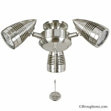 Sorrento Cluster Light Brushed Nickel