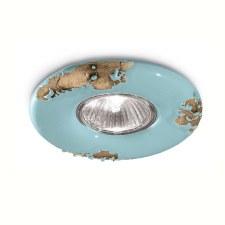 Italian Ceramic Spot Light C481 Vintage Azzurro