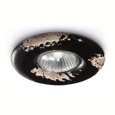Italian Ceramic Spot Light C481 Vintage Nero