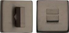 Heritage SQ4035 Bathroom Thumb Turn & Release Matt Bronze Lacquered