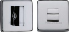 Heritage SQ4035 Bathroom Thumb Turn & Release Polished Chrome