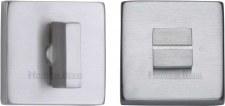Heritage SQ4035 Bathroom Thumb Turn & Release Satin Chrome