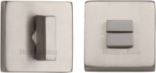 Heritage SQ4035 Bathroom Thumb Turn & Release Satin Nickel