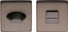 Heritage SQ4043 Bathroom Thumb Turn & Release Matt Bronze Lacquered