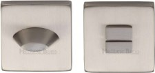 Heritage SQ4043 Bathroom Thumb Turn & Release Satin Nickel