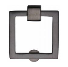Heritage Square Cabinet Drop Handle C6311 Matt Bronze