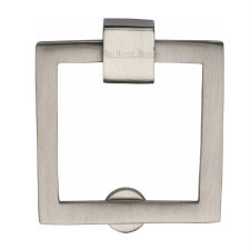 Heritage Square Cabinet Drop Handle C6311 Satin Nickel