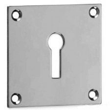 Croft Square Escutcheon 4575 Standard Profile Polished Chrome
