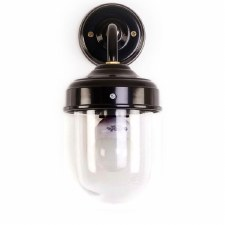 Stable Outdoor Wall Lamp Black
