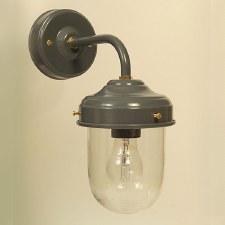 Stable Outdoor Wall Lamp Shingle Grey
