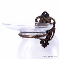 Milano Soap Dish Antique Brass