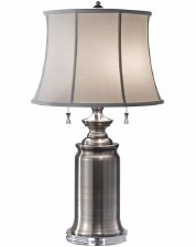 Feiss Stateroom Table Lamp Antique Nickel