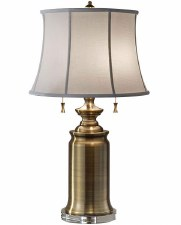 Feiss Stateroom Table Lamp Bali Brass
