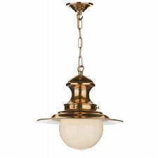 David Hunt EP64 Station Ceiling Pendant Light Copper