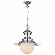 David Hunt EP50 Station Ceiling Pendant Light Polished Chrome