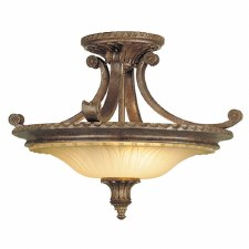 Feiss Stirling Cast Semi Flush Light