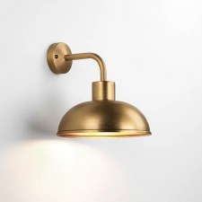 Stornoway Wall Light Coastal Range Antique Brass