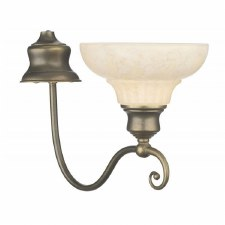 David Hunt ST111 Stratford Single Wall Light Aged Brass