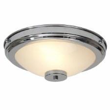 Stratton Flush Ceiling Light Chrome