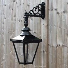 Sutton Outdoor Wall Bracket Lantern Black