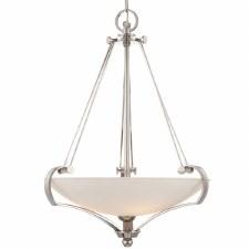 Quoizel Sutton Place Pendant/Uplighter Silver