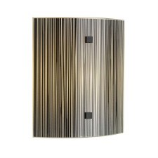David Hunt SWL0722 Swirl Flush Wall Light Black