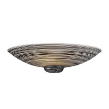 David Hunt SWW0722 Swirl Wall Washer Light Black