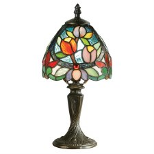 Interiors 1900 Sylvette Tiffany Mini Table Lamp