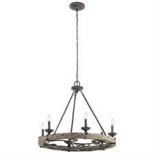 Kichler Taulbee 6 Light Round Chandelier