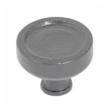 Stonebridge Taunton Cabinet Knob 30mm Armor Coat Satin Steel