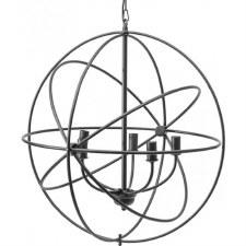 Tavistock Wrought Iron Globe Pendant