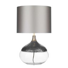 David Hunt TEA4367 Teardrop Table Lamp Base Pewter