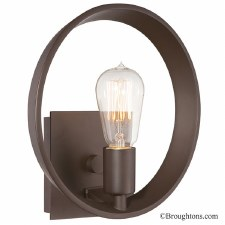 Quoizel Theater Row Single Wall Light Imperial Silver
