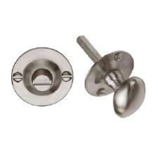 Heritage BT15 Bathroom Thumb Turn & Release Satin Nickel
