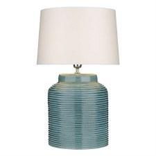 David Hunt TID4123 Tidal Table Lamp Base Blue