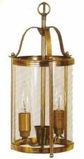 Touques Pendant Lantern Antique Brass