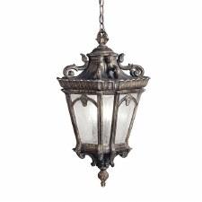 Kichler Tournai Extra-Large Chain Lantern Londonderry Finish