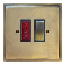 Mode Switched Fused Spur Illuminated Antique Satin Brass