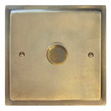 Mode Dimmer Switch 1 Gang Antique Satin Brass