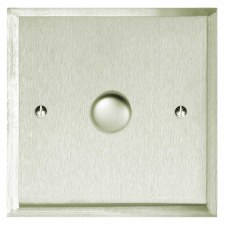 Mode Dimmer Switch 1 Gang Satin Nickel